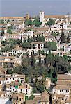 Espagne, Andalousie, Grenade, El Albaicin
