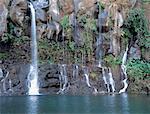 Reunion, Saint Gilles les Hauts, waterfall