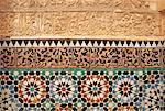 Morocco, Marrakech, architecture detail