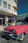 United States, Florida, Miami Beach, Ocean Drive, Art Deco hotel