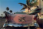 United States, Florida, Miami, Cadillac in the Art Deco neighborhood