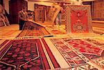Turkey, Istanbul, rug vendors