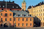 Habitation traditionnelle de Suède, Stockholm,