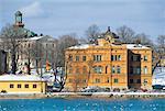 Maison du 19ème siècle de Suède, Stockholm,