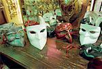Masques de carnaval de Venise, Italie
