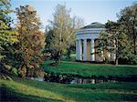 Russia, Saint Petersburg, Pavlovsky Castle garden