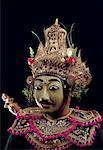 Indonesia, Bali, dancer of the Ramayana