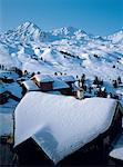 France, Alps, La Plagne