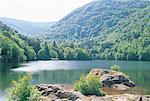 France, Alsace, lac d'Alfeld
