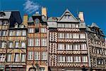 France, Bretagne, Rennes, place du Champ-Jacquet