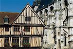 France, Normandie, maison à Vernon