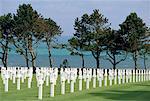 Cimetière américain de Normandie, France