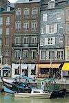 France, Normandy, Honfleur harbour