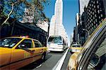 United States, New York, Manhattan, cabs