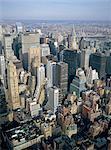 United States, New York, Manhattan, aerial view