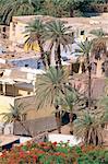 Egypt, Assouan, adobe houses