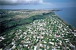 Reunion, Aerial view of Saint Denis