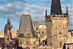 Czech Republic, Prague, The Charles Bridge and Hradcany