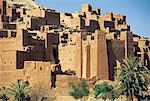 Morocco, High Atlas, ksour at Aït Ben Haddou