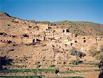 Morocco, Village in High Atlas