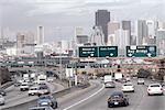 United States, California, San Francisco, highway traffic