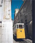 Portugal, Lisbon, Tramway on San Jose street
