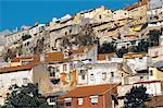 Portugal, Lisbon, View of a working class neighborhood