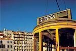 Portugal, Lisbon, Alfama neighborhood, tramway