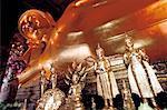 Thailand, Bangkok, Bouddha in Wat Pho Temple