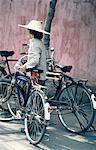 Personne de Chine, Canton, bicyclette