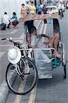 Indonesia, Singapour, rickshaw