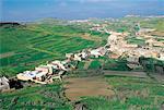 Malte, Gozo, paysage de la forteresse de Victoria