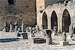 Syria, Bosra, Roman ruins