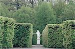 Sweden, Stockholm, Gardens of Drottningholm Castle in the summer