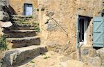 France, Corse, Balagne, village de San Antonino