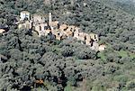 France, Corsica, Balagne, village