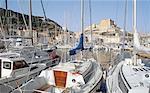 France, Corsica, Bonifacio, leisure boats