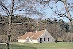 The Netherlands, Friesland, Terschelling, traditional farm