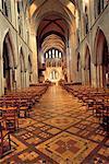 Irlande, Dublin, St Patrick cathedral, intérieur