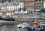 Irlande, comté de Cork, village de Cobh et fort