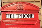 England, London, Phone box