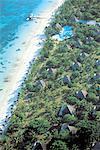 Maurice, Trou-aux-biches, aerial view