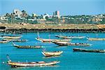 Senegal, Dakar, Cap Green, Lebou pirogues