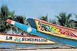 Sénégal, pirogues de Lebou Saly, petite côte,
