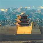 China, Great Wall, Jiayu Guan