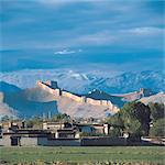 Tibet, grande muraille