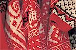 Norway, Trondheim, wool dresses
