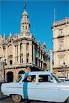 Cuba, Havana, old american car