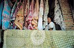 Indonesia, Bali, Ubud, batik shop
