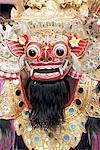 Indonesia, Bali, Classical Barong head